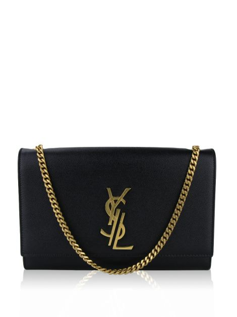 Bolsa Yves Saint Laurent Deconstructed Preto