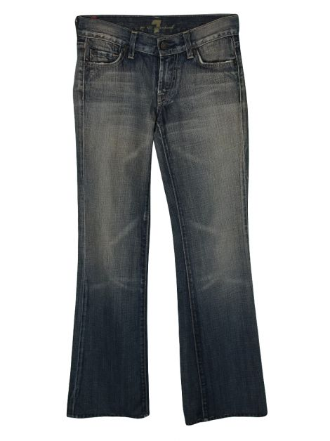 Calça Seven For All Mankind Boot Cut Azul