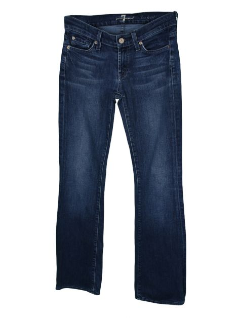 Calça Seven For All Mankind Bootcut Rebites
