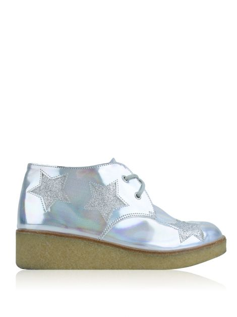 Bootie Stella Mccartney Holographic Wendy Wedge Infantil