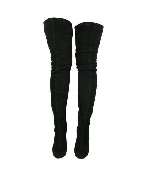 Bota Alaia Over The Knee Preta
