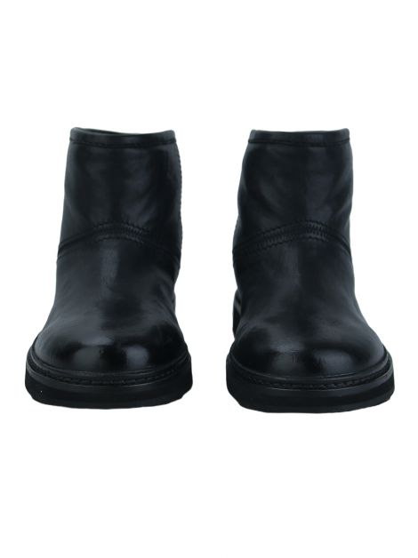 Bota Car Shoe Leather Preta