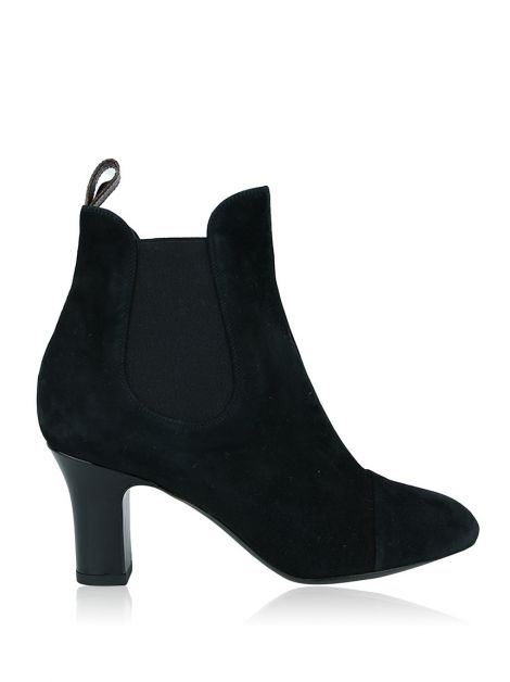 Bota Louis Vuitton Ankle Boot Revival Preta