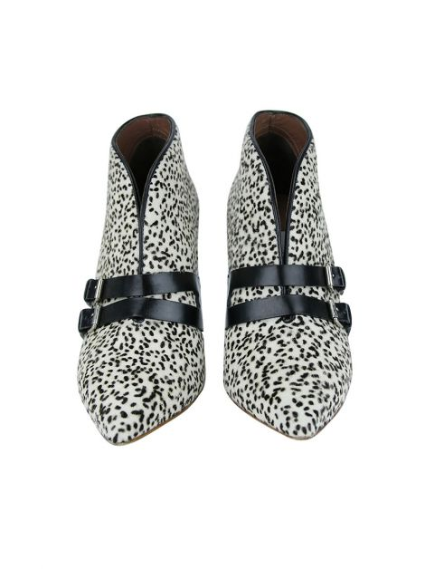 Bota Tabitha Simmons Dalmation Hair Calf Estampado