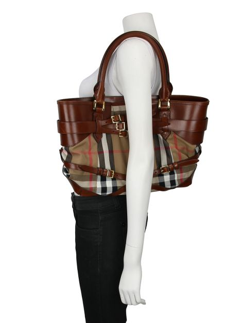 Bolsa Burberry Bridle House Check