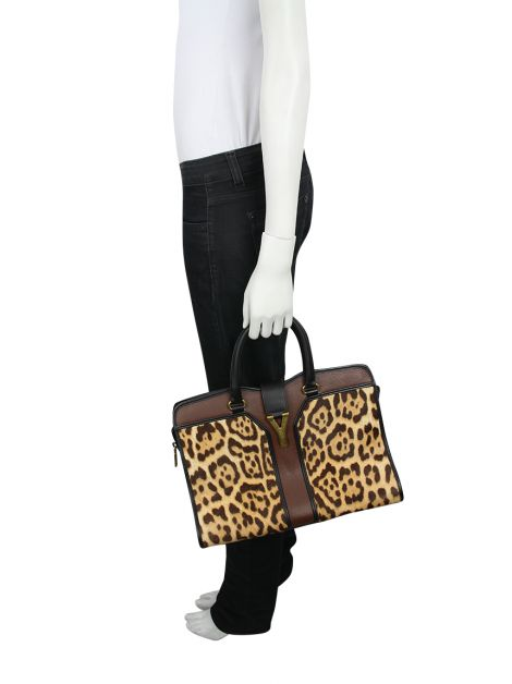 Bolsa Yves Saint Laurent Cabas Animal Print