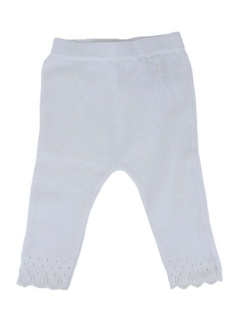 Calça Baby Dior Tricot Creme Baby