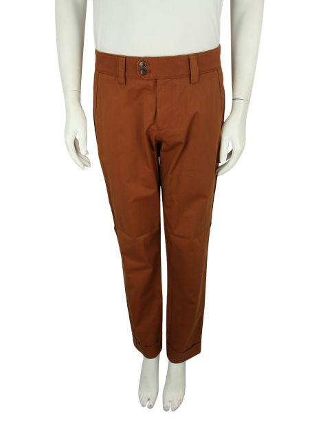 Calça Gucci Riding Terracota Masculina