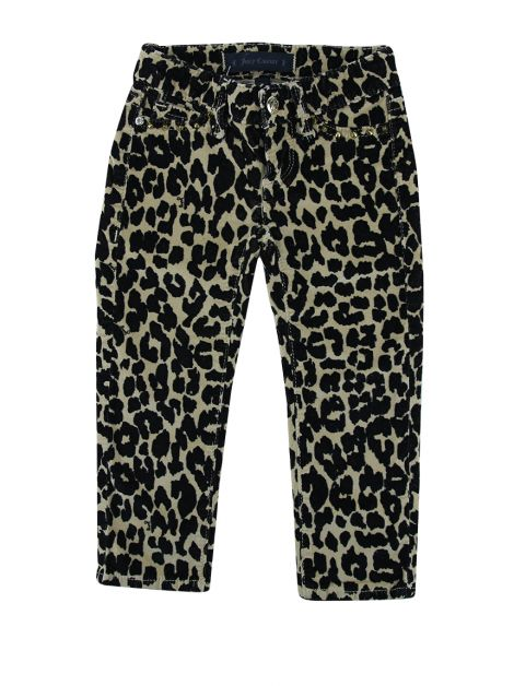 Calça Juicy Couture Veludo Leopardo Infantil