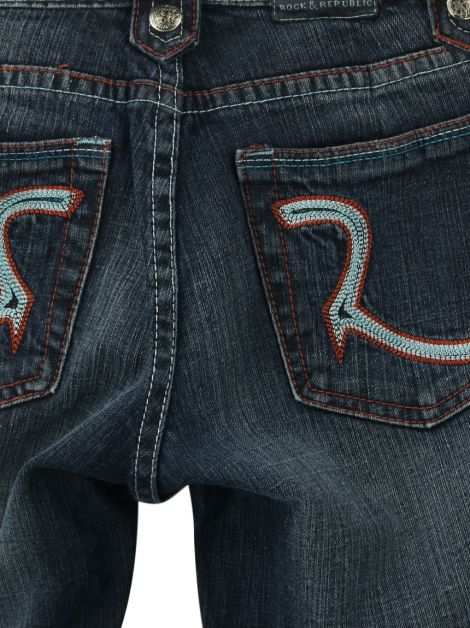 Calça Rock & Republic Reta Jeans