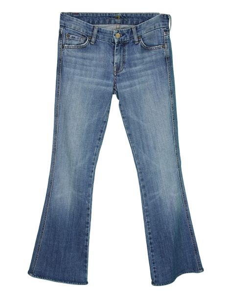 Calça Seven For All Mankind Jeans A Pocket Bootcut