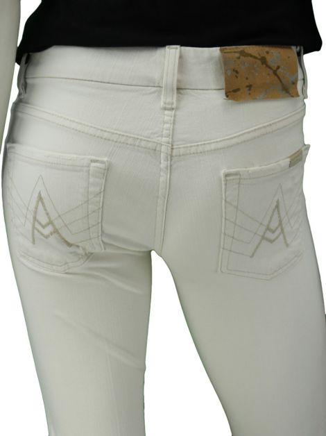 Calça Seven For All Mankind A Pocket Branco