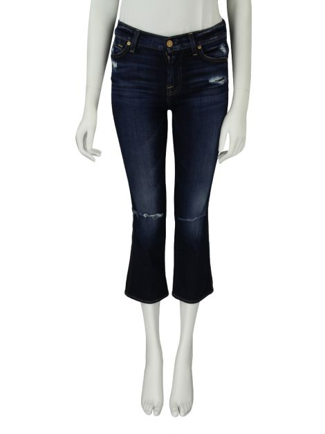 Calça Seven For All Mankind Cropped Boot Jeans