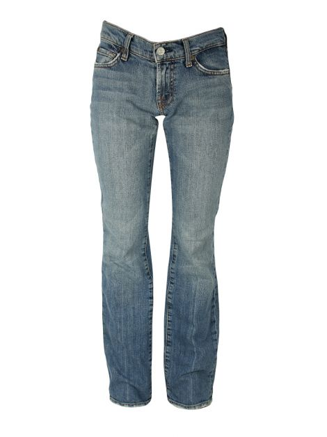 Calça Seven For All Mankind Flare Jeans Claro