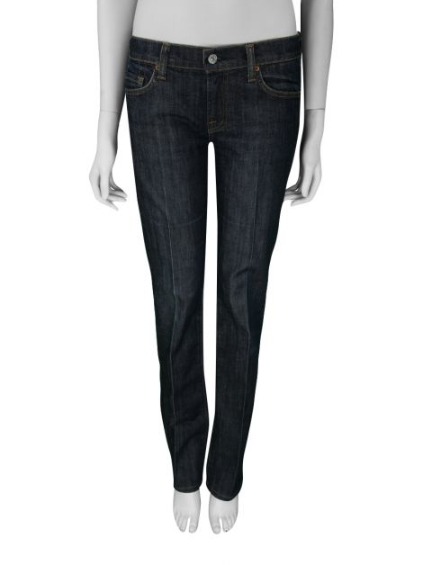 Calça Seven For All Mankind Jeans Azul Escuro
