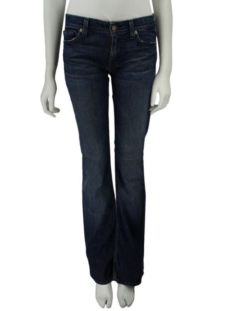Calça Seven For All Mankind Jeans Escuro