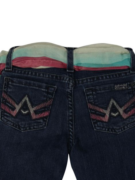 Calça Seven For All Mankind Jeans Infantil