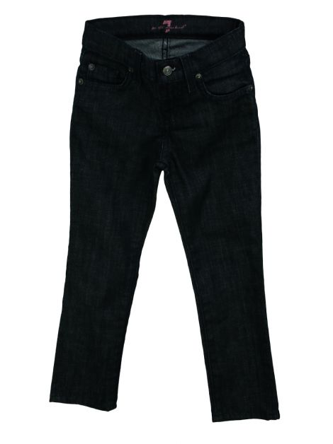 Calça Seven For All Mankind Jeans Reta Infantil