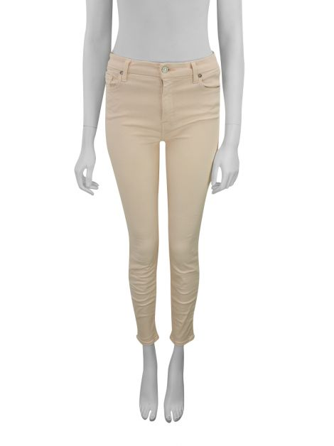 Calça Seven For All Mankind Jeans Rosa