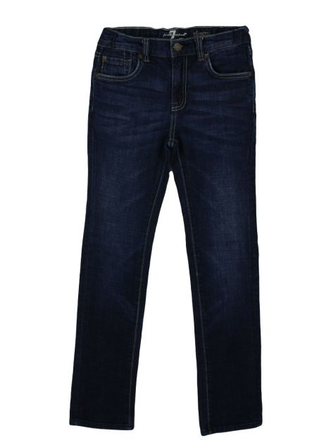 Calça Seven For All Mankind Jeans Slimmy Infantil
