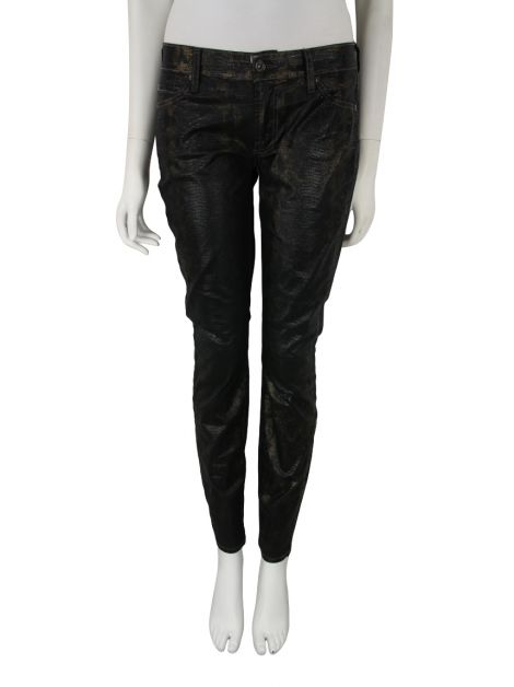 Calça Seven For All Mankind Lizzard Preto