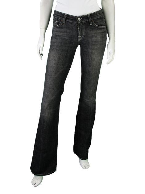 Calça Seven For All Mankind Long Bootcut Preta