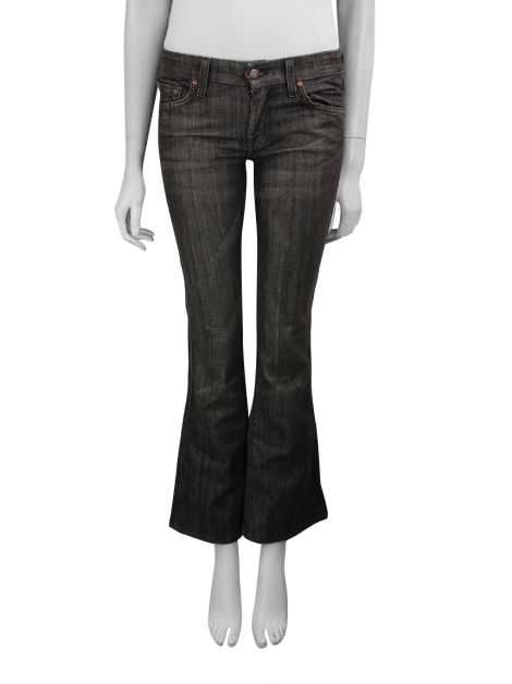 Calça Seven For All Mankind Reta Cinza