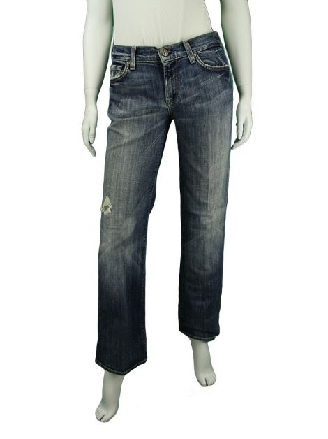 Calça Seven For All Mankind Reta Jeans