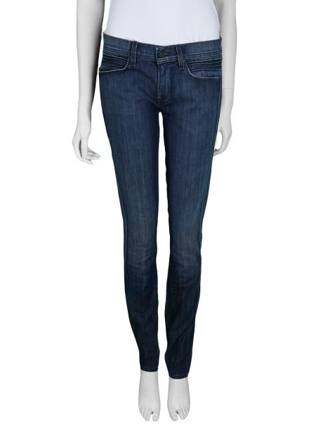 Calça Seven For All Mankind Roxanne Jeans Escura