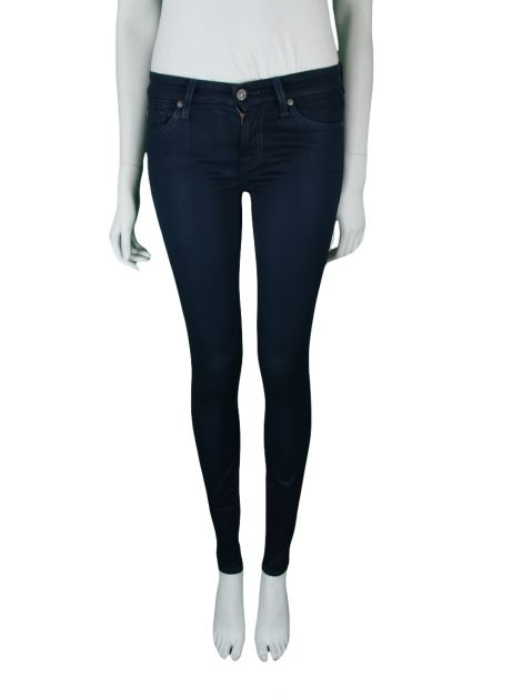 Calça Seven For All Mankind Skinny Azul
