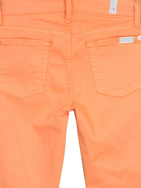 Calça Seven For All Mankind Skinny Coral