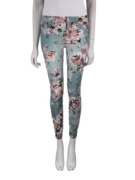 Calça Seven For All Mankind Skinny Floral
