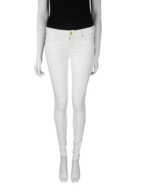 Calça Seven For All Mankind Skinny Off White