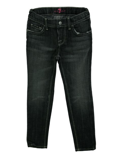 Calça Seven For All Mankind Sophie Jeans Cinza Infantil