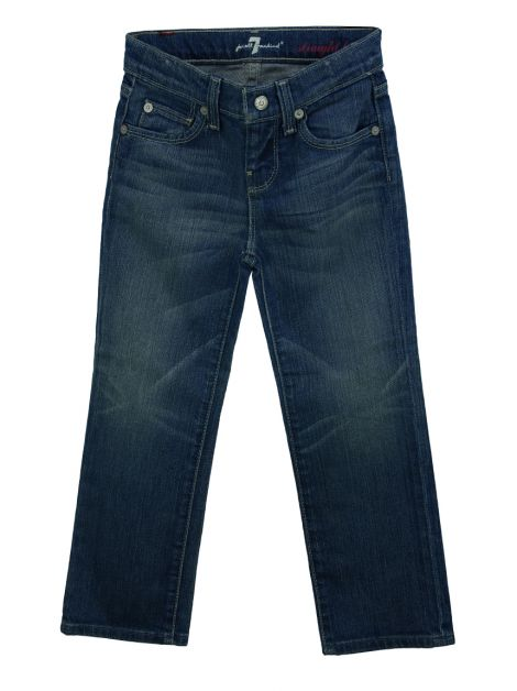 Calça Seven For All Mankind Straight Leg Jeans Infantil