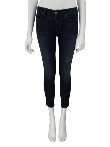 Calça Seven For All Mankind The Ankle Skinny Jeans