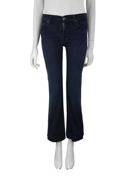 Calça Seven For All Mankind The High Waist Slim Trouser Jeans