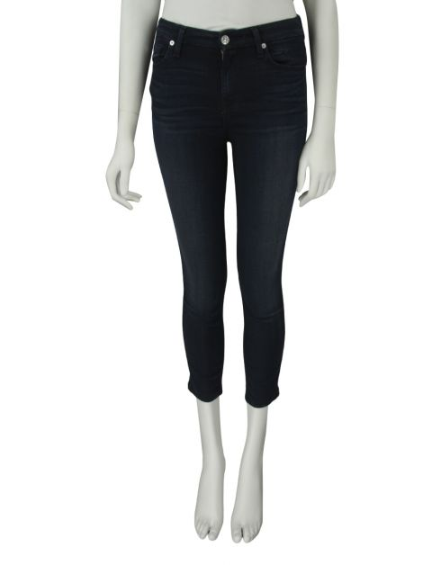 Calça Seven For All Mankind The Mid Rise Ankle Skinny Jeans