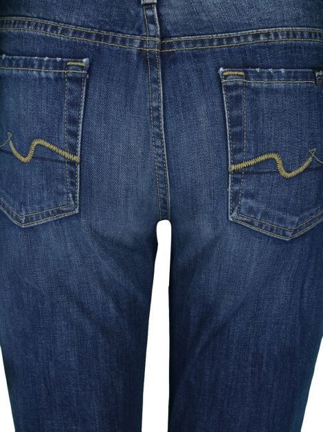 Calça Seven For All Mankind The Skinny Jeans Azul