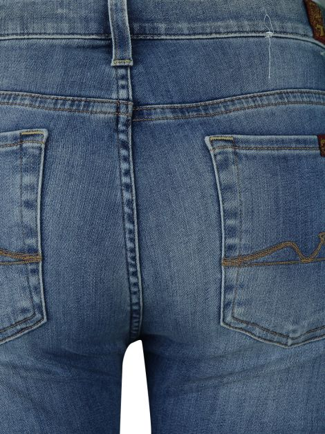 Calça Seven For All Mankind The Skinny Jeans Claro