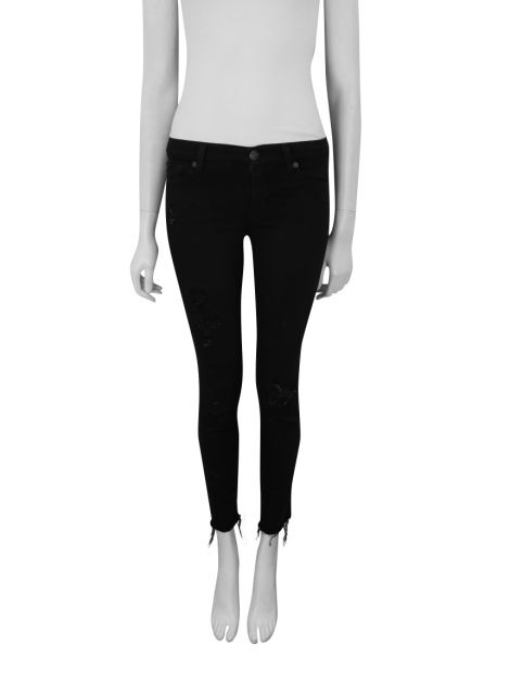 Calça Seven For All Mankind The Skinny Preta