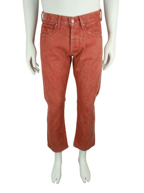 Calça Seven For All Mankind The Straight Terracota
