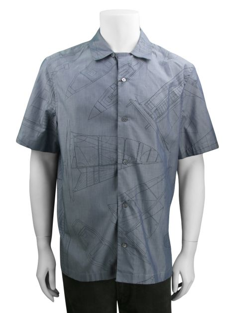 Camisa Louis Vuitton Cambray SS Shirt Masculina