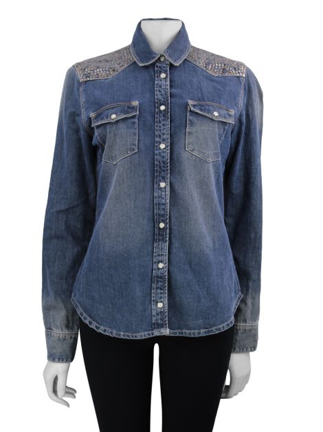 Camisa Animale Jeans Studs