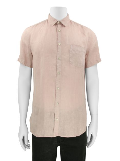 Camisa Boss by Hugo Boss Linho Rose Masculina