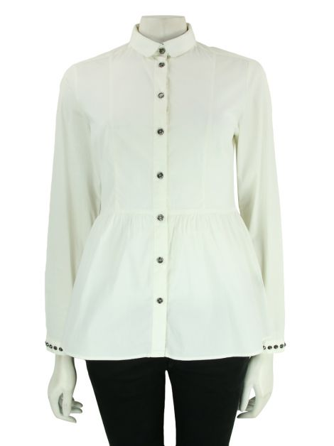 Camisa Burberry London Algodão Off White