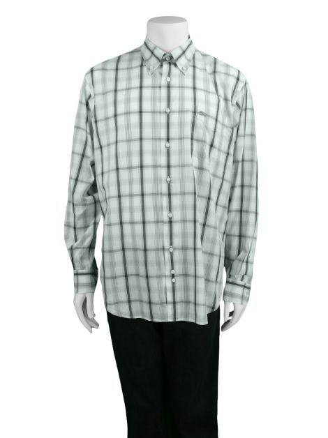 Camisa Burberry London Xadrez Bicolor Masculina