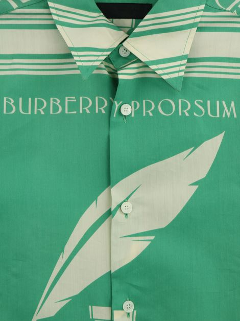 Camisa Burberry Prorsum Great British Writers Masculino