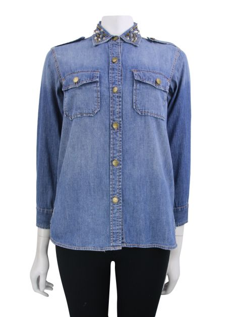 Camisa Current Elliott Spikes Jeans