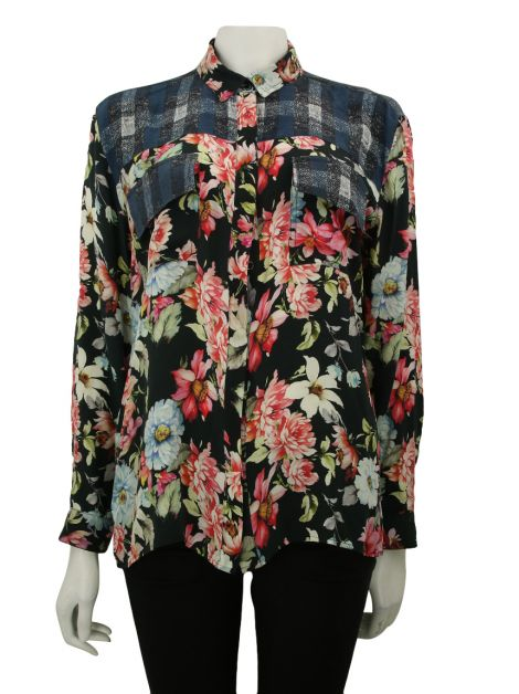 Camisa Mixed Estampa Floral